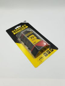 100 x Original Stanley Fat Max, Extra Heavy Duty Straight Blades, 2 notch, Stanley 8-11-700